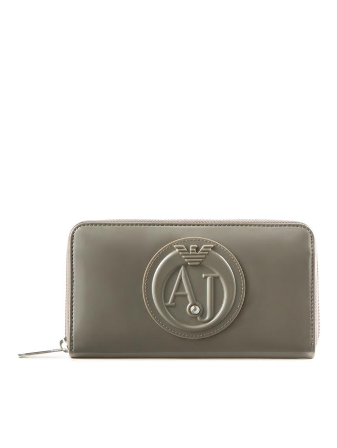 a7a4e78ffa Armani Jeans - Portafoglio in vernice - Ibox