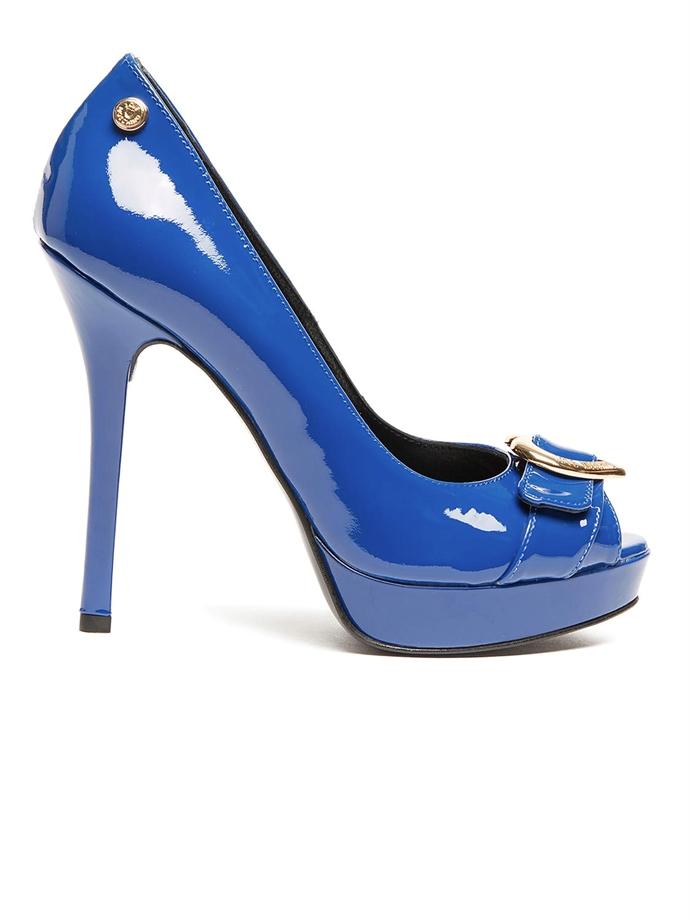 058a6bbc4d765 Blue patent pumps - Ibox.it