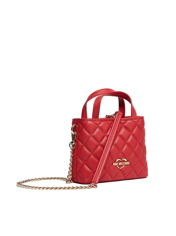 Liebe Minibag Liebe Damen Moschino Moschino H75OzqOw